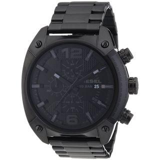 Diesel Men's Black Stainless Steel Chronograph Watch