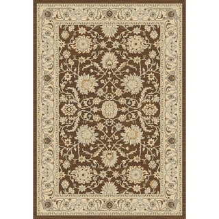 Safavieh Contemporary Florenteen Brown/Ivory Rug (8' x 11')