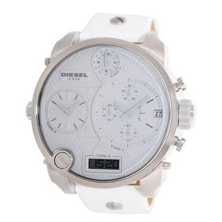 Diesel Men's DZ7194 Oversized Mr. Daddy White Watch