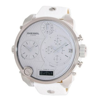 Diesel Men's White Oversized Chronograph Watch