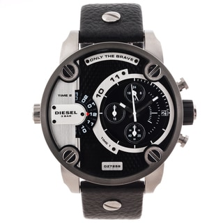 Diesel Men's Oversized Black Dial Chronograph Watch