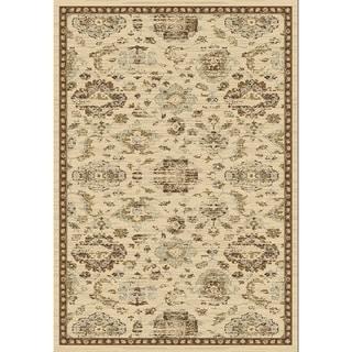 Safavieh Florenteen Ivory/ Brown Rug (8' x 10')