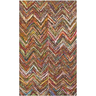 Safavieh Handmade Nantucket Multi Cotton Rug (2' x 3')