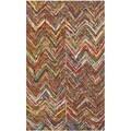 Safavieh Handmade Nantucket Multi Cotton Rug (2' x 3')