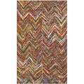 Safavieh Handmade Nantucket Multi Cotton Rug (3' x 5')