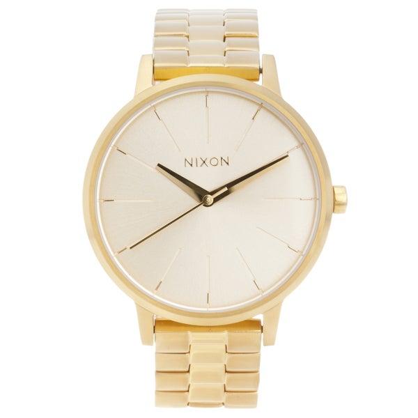 Nixon A099502-00 Women's Kensington Quartz Gold-tone Stainless Steel Watch