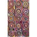 Safavieh Handmade Nantucket Pink/ Multi Cotton Rug (2' x 3')