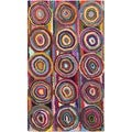 Safavieh Handmade Nantucket Pink/ Multi Cotton Rug (2'3 x 4')