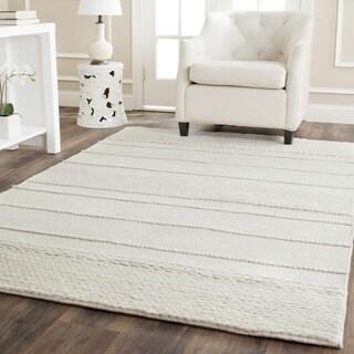 Safavieh Handmade Natura Natural Wool Rug (4' x 6')