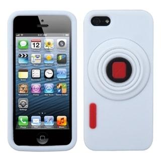 MYBAT White Camera Style Case for Apple iPhone 5