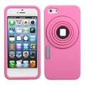 MYBAT Pink Camera Style Case for Apple iPhone 5
