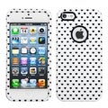 MYBAT White Vintage Dots Case for Apple iPhone 5