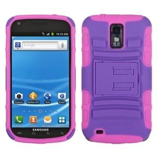 ASMYNA Purple/ Pink Case for Samsung T989/ Galaxy S II