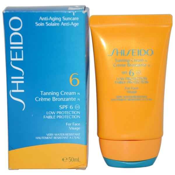 Shiseido Anti-aging Sun Care SPF 6 Tanning Cream