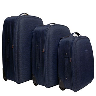 Chicane Blue 3-piece Luggage Set