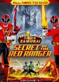 Power Rangers Samurai: The Secret Of The Red Ranger Vol. 4 (DVD)