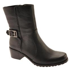 Women's Anne Klein Emiliana Black Leather