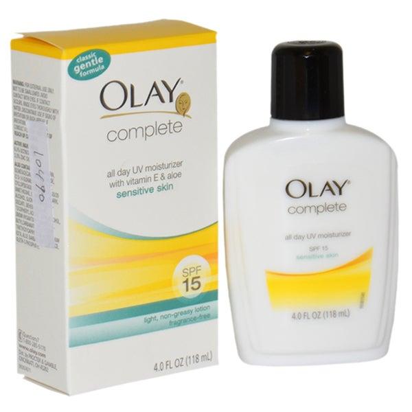 Olay Complete All Day 4-ounce UV Moisturizer SPF15 with Vitamin E & Aloe