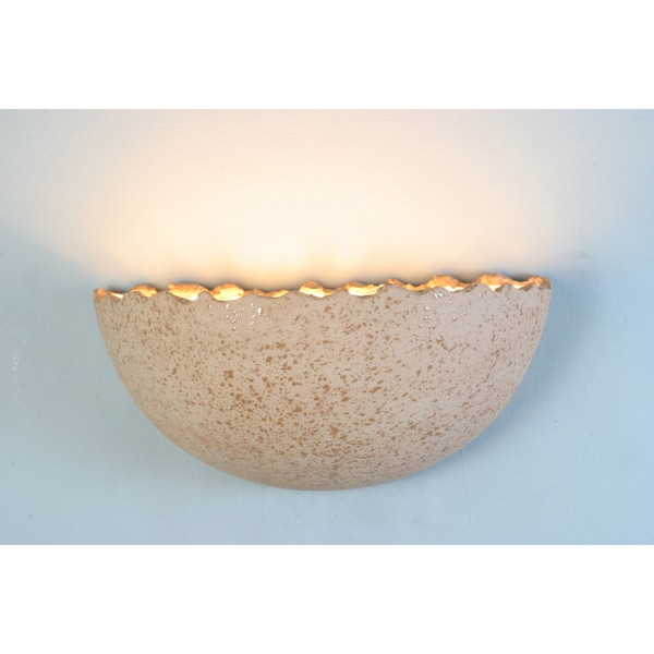 Light Accents 1-light Terracotta Wall Sconce