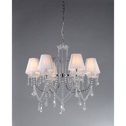 Warehouse of Tiffany Eros White Chandelier