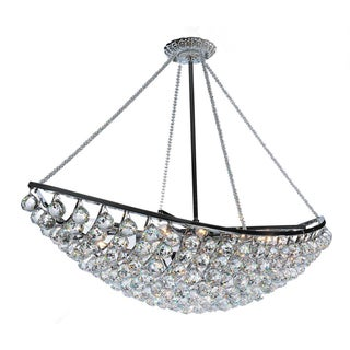 Warehouse of Tiffany Heracles 6-light Black Chandelier