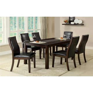 Furniture of America Yani 64-inch Rectangular Mosaic Insert Dining Table