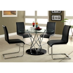 Koco Martin 48-inch Tempered Glass Dining Table