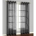 Charcoal 84-inch Curtain Panel Pair
