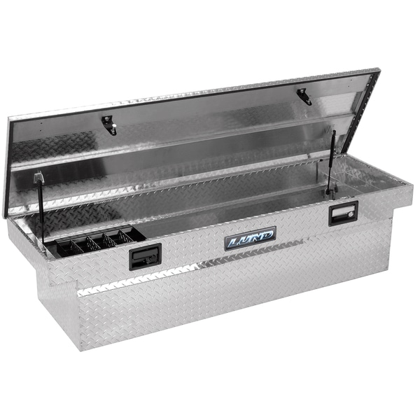 Tradesman Truck Silver 70-inch Bed Truck Tool Box