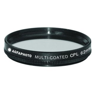 Agfa 62mm Digital Multi-Coated Circular Polarizing (CPL) Filter APCPF62