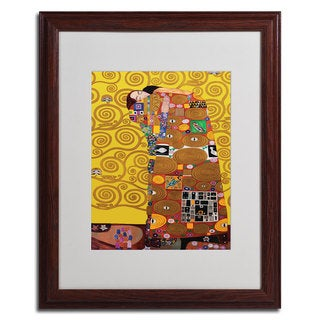 Gustav Klimt 'Fulfillment' Framed Matted Art