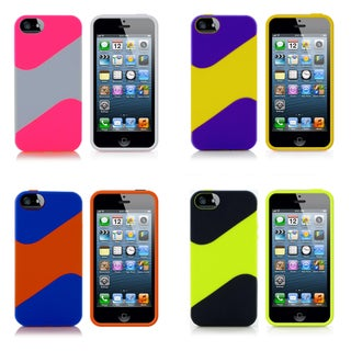 MeeCase Apple iPhone 5/S/C Dual color TPU Case
