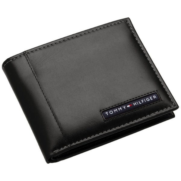 Tommy Hillfiger Men's Cambridge Leather Bi-fold Wallet