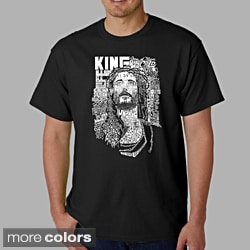 Los Angeles Pop Art Men's 'Jesus' T-shirt