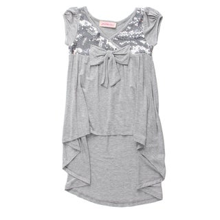 Paulinie Collection Girls' Sequins Tunic