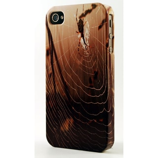 Spider and Web Dimensional Plastic iPhone Case