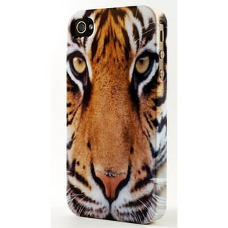 Regal Tiger Dimensional Plastic iPhone Case