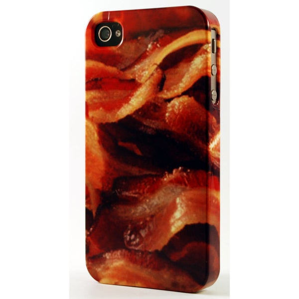 Crispy Fried Bacon Dimensional Plastic iPhone Case