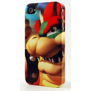 Snarling Bowser from Mario Dimensional Plastic iPhone Case