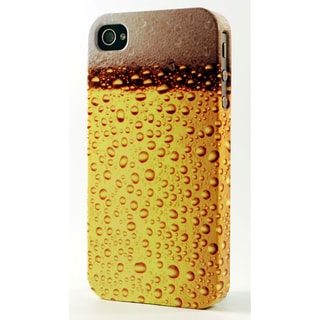 Foamy Frosty Glass Of Beer Dimensional Plastic iPhone Case