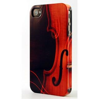 Musical Cello Dimensional Plastic iPhone Case