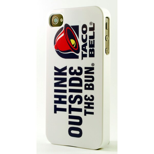 Think Outside The Bun Taco Bell Dimensional Plastic iPhone Case