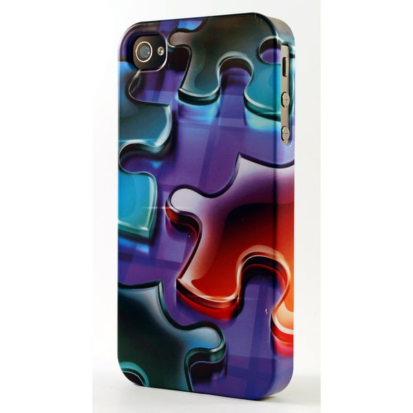 Jigsaw Puzzle Pieces 3D Plastic iPhone Case