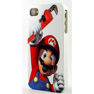 Mario The Plumber Dimensional Plastic iPhone Case