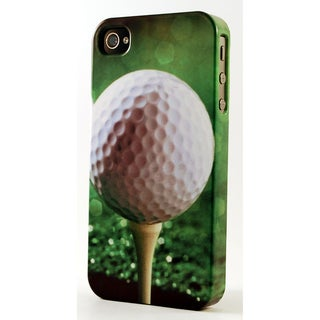 Golf Ball On Tee Dimensional Plastic iPhone Case