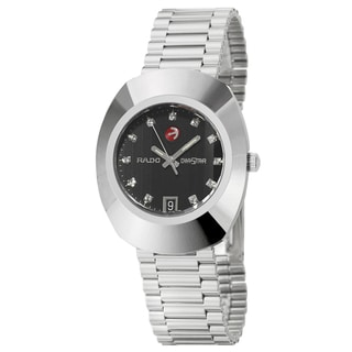 Rado Men's 'Original' Stainless Steel Swiss Automatic Watch