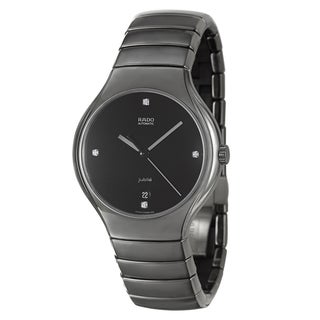 RADO Men's 'Rado True' Ceramic Swiss Automatic Watch
