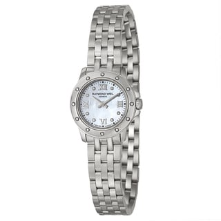 Raymond Weil Women's 'Tango' Stainless Steel Swiss Quartz Watch