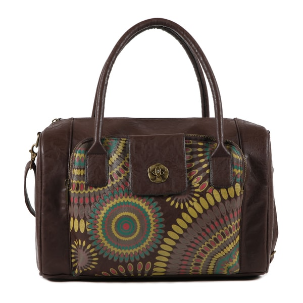 Nikky by Nicole Lee 'Susan' Bohemian Fabric Boston Bag
