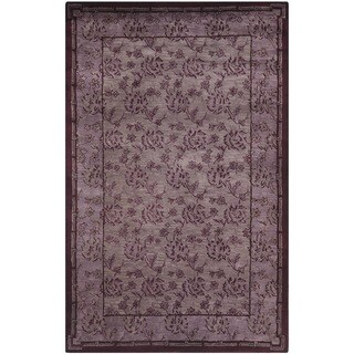 Large Safavieh Handmade Newport Multi Wool Rug (5' x 8')